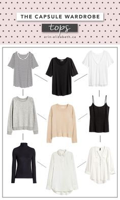 Building basics within your wardrobe is so essential. I have been working on building my own time capsule wardrobe for a little while now, so I decided Capsule Wardrobe Women, Wardrobe Basics, New Wardrobe, Minimalist Chic, Minimalist Wardrobe, Erin Elizabeth, Time Capsule, Wardrobes, Bell Sleeve Top