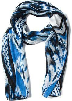 Roberto Cavalli printed scarf on shopstyle.co.uk
