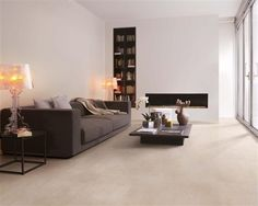 Find your concrete easily amongst the 109 products from the leading brands (Lafarge, .) on ArchiExpo, the architecture and design specialist for your professional purchases. Interior Architecture, Interior Design, Room Tiles, Living Room Flooring, Floor Finishes, Concrete Floors, Ground Floor, Sweet Home, Lounge