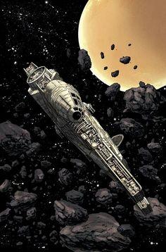 Millennium Falcon by Declan Shalvey