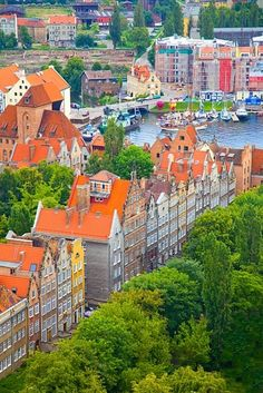 Gdansk, Poland- where my cousins are! it's actually on the seaaaaa www.polonyam.com