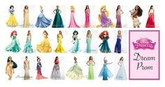 """Disney Proms"" by brooklynbeatz ❤ liked on Polyvore featuring Disney"
