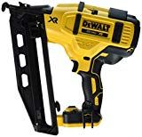 DEWALT 16 Gauge Finish Nailer - Not for every day HEAVY use. but fabulous for the small projects when you don't want to get out the compressor, hoses, and air nailer. Finish Nailer, Finish Carpentry, Dewalt Tools, Tool Pouch, Grand Haven, Nail Gun, Trim Work, Tool Storage, Woodworking Tips