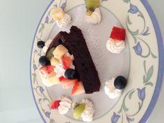 choco cake by yuna&mie