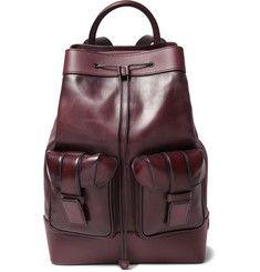 Berluti - Horizon Panelled Leather Backpack