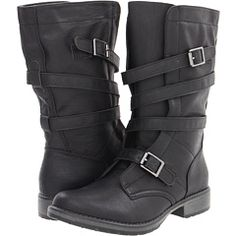 Madden Girl Raszcal Black Paris - Zappos.com Free Shipping BOTH Ways