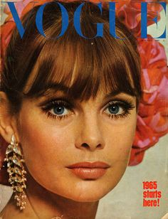 Vogue January 1965 Cover by Duffy - Jean Shrimpton Jean Shrimpton, Vogue Magazine Covers, Fashion Magazine Cover, David Bailey, 1960s Fashion, Vogue Fashion, Gothic Fashion, Fashion Fashion, High Fashion