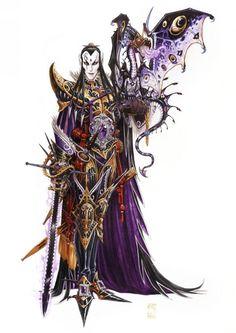 Olivier Ledroit : Prince elfe noir