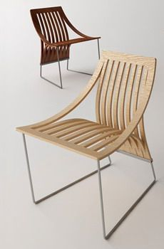 ONE CUT CHAIR by Scott Jarvie