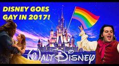 DISNEY GOES GAY IN 2017! BEAUTY AND THE BEAST ILLUMINATI GAY AGENDA TARG...