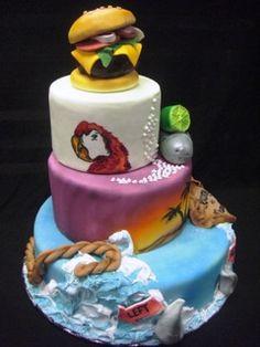 margaritaville cake part 2 for Ben :)