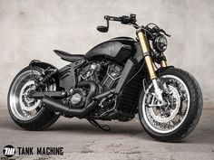 Tank Machine personnalisation de moto, Suzuki Vanvan, BMW Nine-T, Indian Scout Softail Bobber, Bobber Bikes, Cool Motorcycles, Indian Motorcycles, Indian Scout Bike, Indian Scout Custom, Jeep Willys, Motorcycle Tank, Motorcycle Design