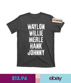 78a30c4fb T-Shirts Waylon Jennings Willie Nelson Merle Haggard Johnny Cash Hank Album Tee  T Shirt
