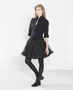 PAUW - Silk Tulle Skirt