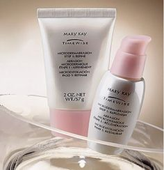 Mary Kay Microdermabrasion Step 1 and Step 2!