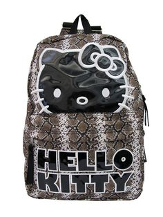 c323ab5fc285 Python Hello Kitty Backpack (Brown)...I m Such A Big