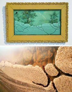 framed wall ant farm - http://dornob.com/living-landscapes-ant-farms-framed-into-abstract-wall-art/# FRAMEicariums