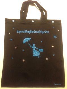 Shopper Einkaufstasche Unikat Luxurypimp Motiv: Mary Poppins