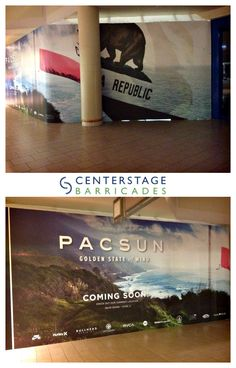 Our team completed another successful installation for PacSun. This barricade can be found at the Freehold Raceway Mall.