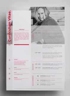 Resume Design by surotype on Envato Elements Entwurfsvorlagen AI, EPS - Entwurf in 300 Cv Resume Template, Resume Design Template, Design Templates, Portfolio Web, Portfolio Design, Cv Designer Web, Cv Original Design, Conception Cv, Basic Resume