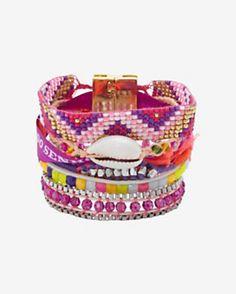 Hipanema Fluo Bracelet: Purple