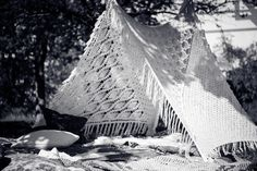 """Vintage Crochet Pavilion """"Boho Baby"""" via TIPIYEAH. Click on the image to see more!"""