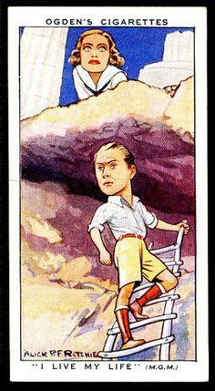 Cigarette Card - Joan Crawford & Brian Aherne | by cigcardpix