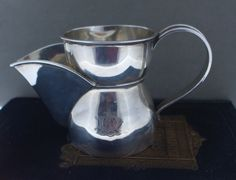 Antique Sterling Silver Shaving Mug