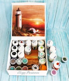 Olesya Barinova: Морская коробка для красок