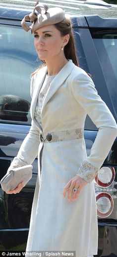 Kate at the wedding of William's cousin, June 2012