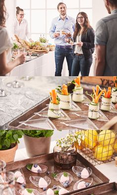 Amuse-bouche, fingerfood, party,