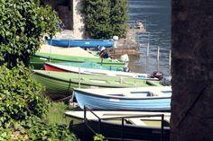 Des bateaux de pêcheurs #Gandria #Lugano #Suisse