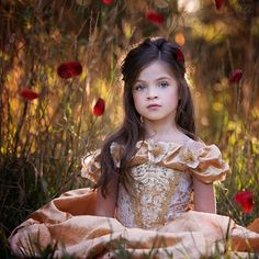 Costume by Ella Dynae Photography by Amber at @frostedproductions  To get a custom-made costume for your own Belle go to www.etsy.com/shop/EllaDynae ~custom fit from 6 months and upward~