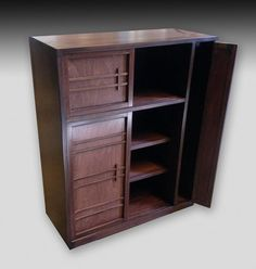Exceptional Japanese Getabako Shoe Tansu With Umbrella Compartment,  Contemporary. Originally Kept At The Entryway