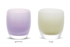 Spoil Me gift set of votives at Glassy Baby made just for grandmas.  We love this company.