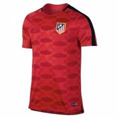 Atletico Madrid 2017-18 Season Red Los Rojiblancos Training Shirt [K140]