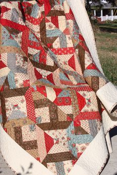 Lap Quilt in the Collection for a Cause Fabric Collection