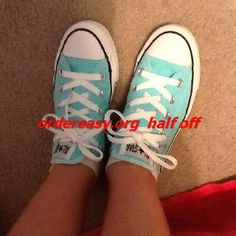 b970dadd8bfc blue converse sneakers are so nice for girls in summer 2014 Discount   Wholesale for Grils