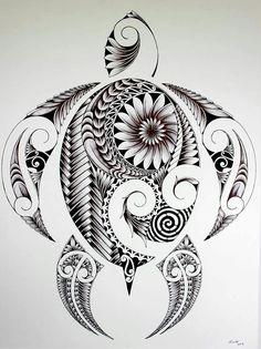 maybe my next tattoo will be a turtle. Symbol of the Turtle : taking their homes. - maybe my next tattoo will be a turtle. Symbol of the Turtle : taking their homes with them wherever - Maori Tattoo Frau, Ta Moko Tattoo, Tattoo Tribal, Maori Tattoos, Irezumi Tattoos, Samoan Tattoo, Body Art Tattoos, New Tattoos, Cool Tattoos