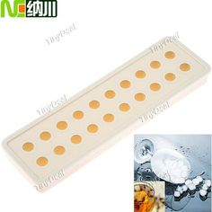 NC Small Ball Style Silicone Ice Tray Ice Cube Mold for Party Novelty Life HKI-204745