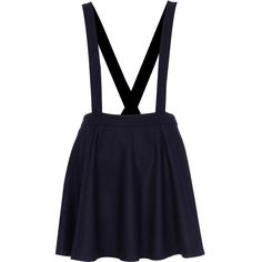 River Island Navy flannel dungaree skater skirt (€14) ❤ liked on Polyvore featuring skirts, bottoms, dresses, faldas, sale, navy circle skirt, blue skater skirt, navy blue skirt, flared skirt und navy skirt