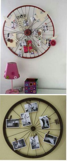 This is awesome! Bike wheel pictures