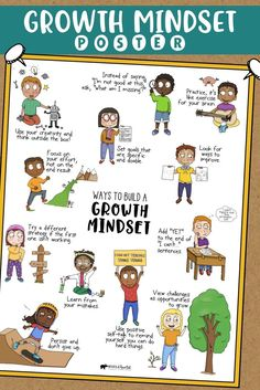 Social Emotional Learning Poster Bundle: 10 Classroom Decor Posters for Student Success, Teachers! Social Emotional Learning Poster Bundle: 10 Classroom Decor Posters for Student Success, What Is Growth Mindset, Growth Mindset Posters, Fixed Mindset, Success Mindset, Elementary School Counseling, School Counselor, Elementary Schools, Trauma, Collage Poster