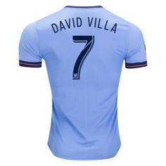 adidas David Silva New York City FC Authentic Home Jersey 2017