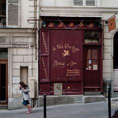 La Part des Anges at their original address on rue Chappe, Montmartre