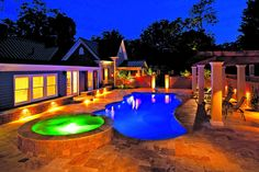 This is gorgeous, I would love to have a pool like that. I wonder if this pool store http://www.royalpoolsandmore.com/about.html near Dyer can help me out.