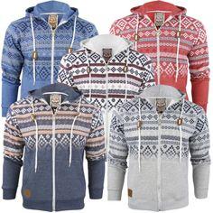 Mens Tokyo Hoodie/ Hooded Aztec/ Nordic Jumper/ Sweatshirt 'Kolsva' – Claret