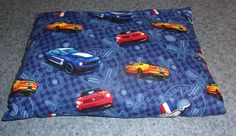 Ford Mustang Travel Pillow - hand sewn cover