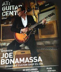 Joe Bonamassa's guitar