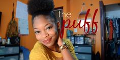 HOW TO: Fake the Puff on Short Natural Hair - http://community.blackhairinformation.com/video-gallery/natural-hair-videos/fake-puff-short-natural-hair/